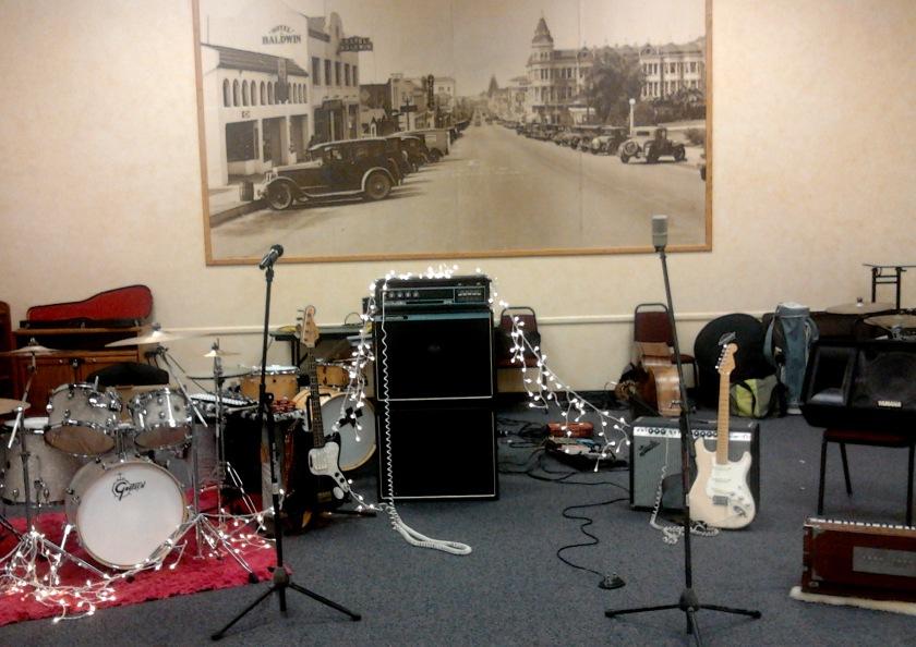Live set-up @ E.P. Foster 9-17-16